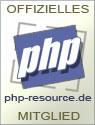Mitglied bei PHP-Resource.de